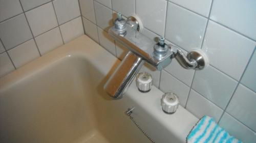 浴室蛇口水漏れ修理