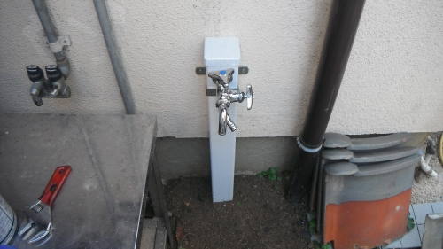 蛇口の水漏れ修理福岡