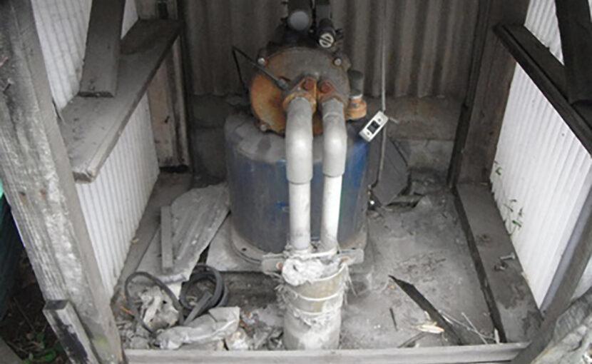 福岡古賀市 深井戸用ポンプの交換工事,何処のメーカーのポンプ