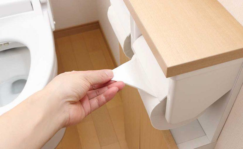 トイレットペーパーの流しすぎに注意!(トイレつまりの原因)福岡市南区