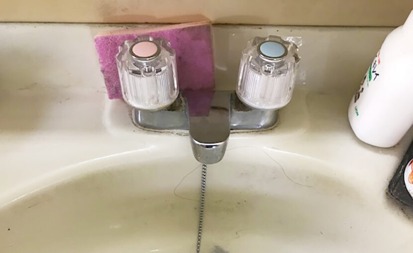 洗面台の蛇口水漏れ修理と浴室の蛇口交換(宗像市)