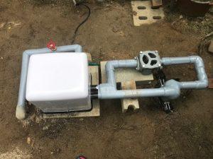 家庭用井戸ポンプの交換工事