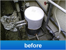 家庭用井戸ポンプ交換工事