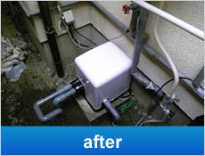 家庭用深井戸ポンプ交換工事