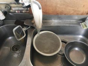 給水管洗浄工事