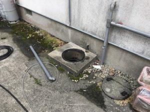 福岡簡易水洗の詰まり