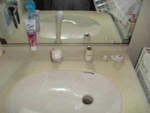 洗面台に付いている蛇口の交換