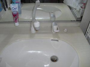 福岡市洗面台の蛇口交換