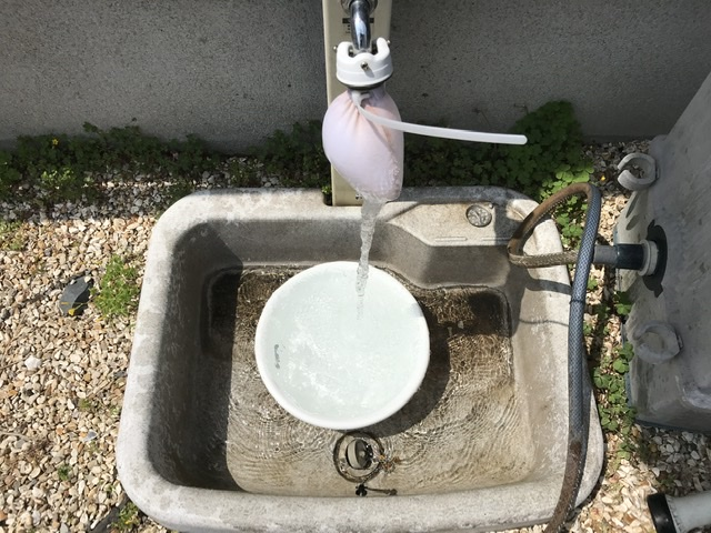 福岡県 福岡市 水道管洗浄