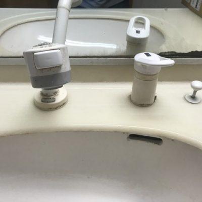 洗面蛇口水漏れ修理蛇口の交換