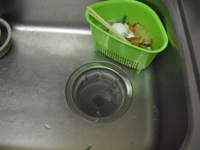 台所水道詰まり