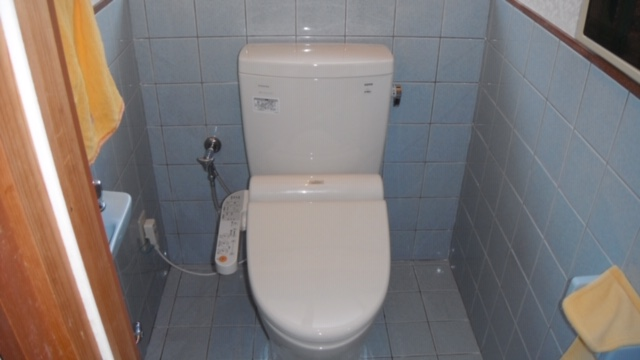 宗像市,福津市,古賀市でのトイレつまりトイレ交換工事排水つまりなら