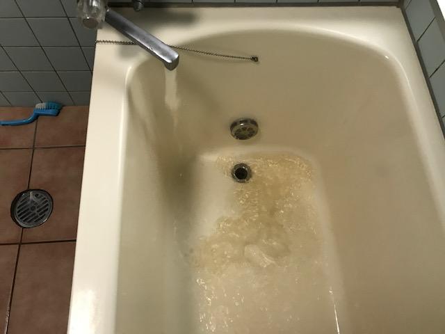 お風呂給水管洗浄 福岡