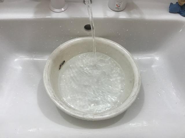給水管洗浄