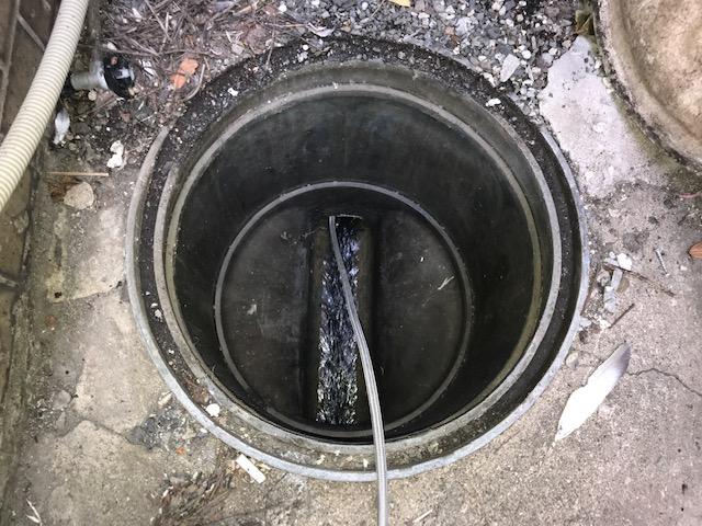 汚水管高圧洗浄