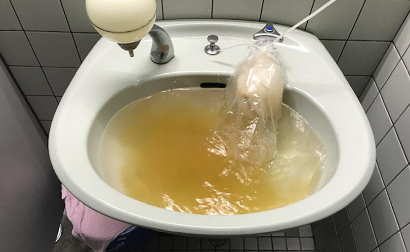 福岡県 福津市 水道管 (サビ,臭い,黒い,) 洗浄工事店