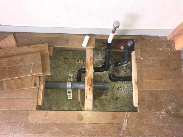 水道管の水漏れ修理
