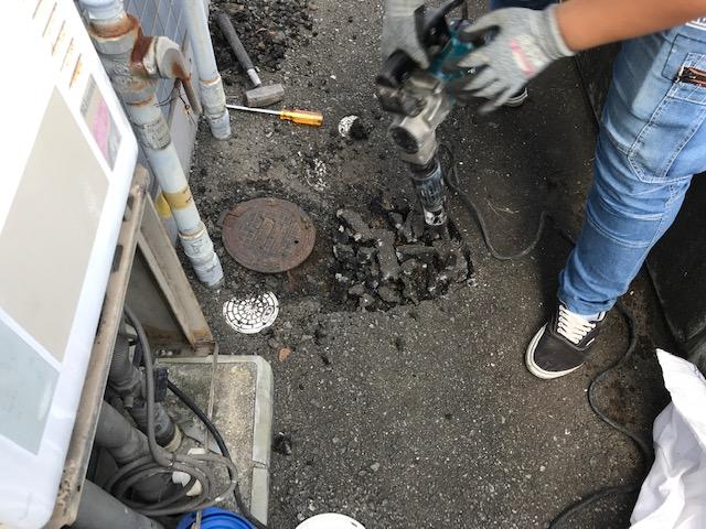 水道管の水漏れ修理福岡市
