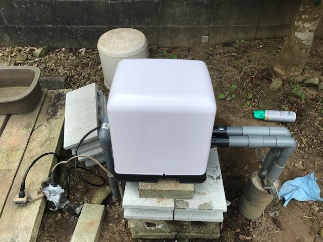 家庭用井戸ポンプ交換