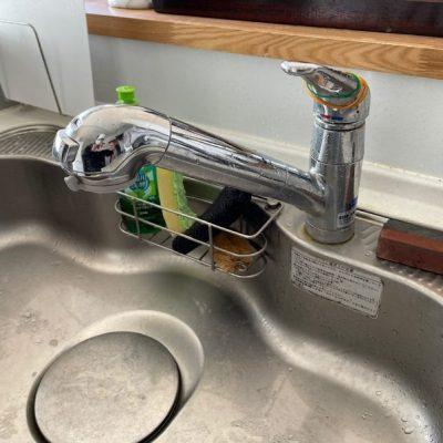キッチン蛇口からの水漏れ修理