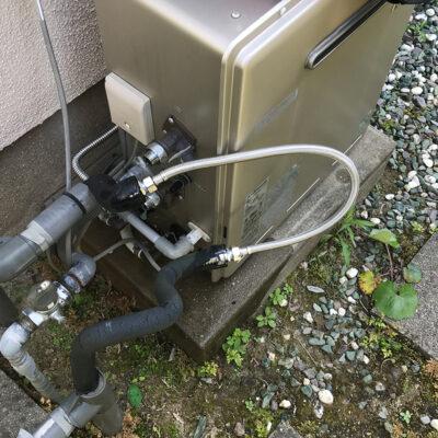 福岡県筑紫野市での井戸水配管の(清掃)洗浄作業でトラブル解消