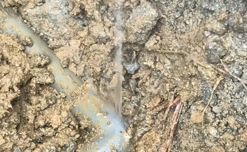 水道管水漏れ修理
