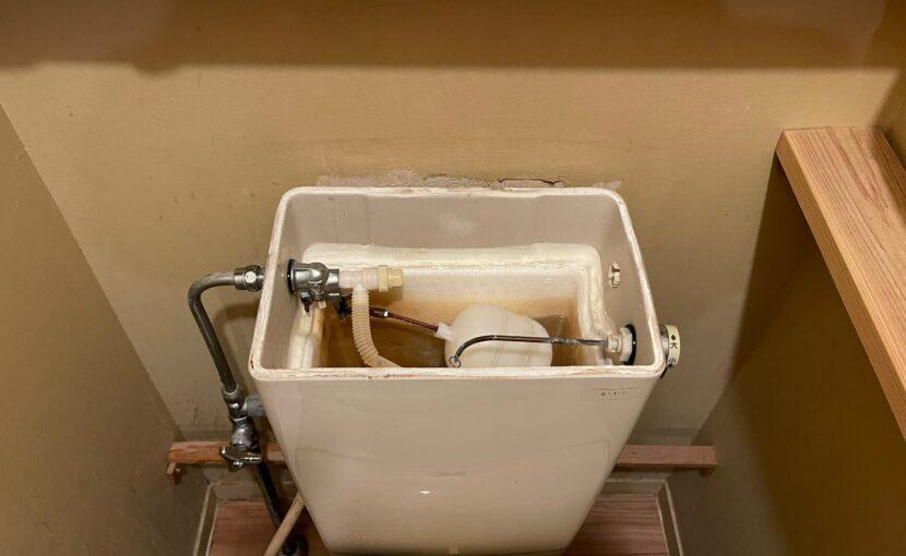 トイレタンク部品の交換